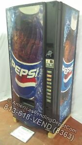 Dixie narco 600e 9 Selections Can bottle Mbd dex Pepsi Bottle Front