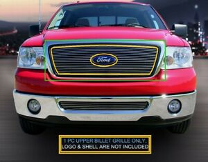 Billet Grille Upper Insert For Ford F150 F 150 2004 2005 2006 2007 2008