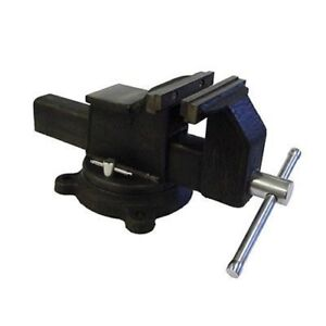 8 Wide Jaw Vice Solid Steel Bench Vise