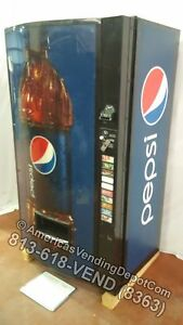 Vendo 511 10 Selections Can bottle Mdb dex New Pepsi Bottle Front