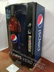 Vendo 511 10 Selections Can bottle Mdb dex Pepsi Bottle Front