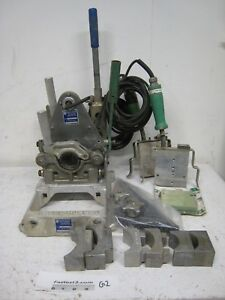 Mcelroy 2 Facer Pitbull Pe Poly Pipe Weld Butt Socket Fusion Machine 200201