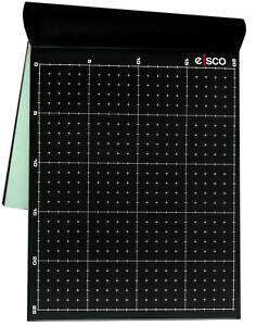 Black Conductive Paper pack Of 25 Dry Field Mapping Paper Eisco Labs