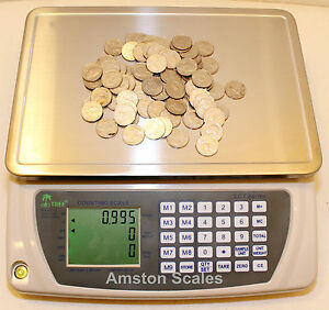 33 Off Open Box used Counting Parts Coin Scale 110x 005 Lb 50 Kgx2g Refurbished