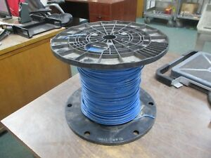 Cerro 10 Awg Wire Gr2 Vw 1 600v Blue Approx Length 964 Ft New Surplus
