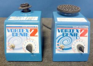 Lot Of 2 Scientific Industries Vortex Genie 2 Laboratory Mixers G 560