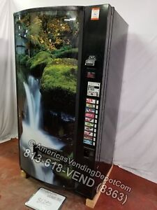 Vendo 511 10 Selections Can bottle Vending Machine Mdb dex Waterfall Front
