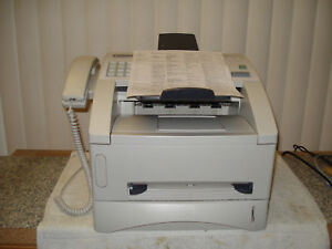 Brother Intellifax 4100e Fax Copier Printer Laser All In One Good Co