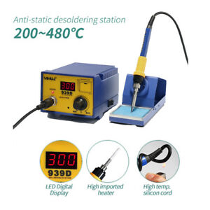 Yihua 939d 60w Smd Rework Solder Soldering Station Desoldering W Iron Stand