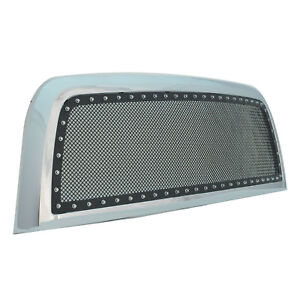 2010 2012 Dodge Ram 2500 3500 Grille Rivet Front Hood Replacement W Chrome Shwll