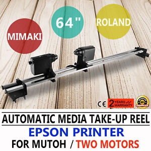 Us 64 Automatic Media Take Up Reel D64 For Mutoh Mimaki roland epson Printer