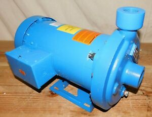 Goulds Water Technology 1mc1h9a0 Centrifugal Pump 3 phase 208 240 480 Vac