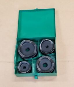 Greenlee 2 2 1 2 3 4 Round Metal Knockout Set Punch And Die Set 2