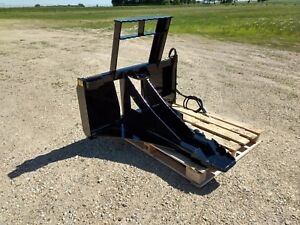 New Tree Post Puller Spade Cutter Dig Commercial Duty Skid Steer Tractor