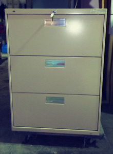 Hon Lateral 3 drawer Filing Cabinet