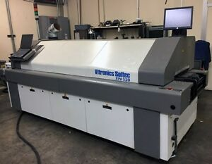 Vitronics Soltec Xpm 520 5 Zone Reflow Oven With Mesh edge Conveyors 208 V 3 Ph