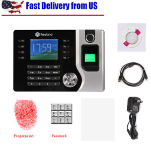 Realand Biometric Fingerprint Attendance Time Clock Id Card Reader Tcp ip Usb