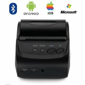 8mm Bluetooth Wireless Receipt Pos Thermal Printer For Ios android windows