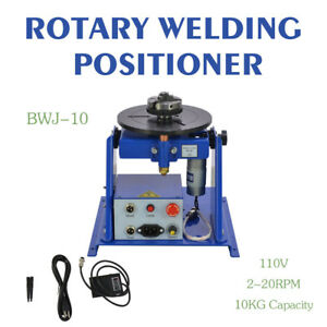 Rotary Welding Positioner 2 20 R min Turntable Table Mini 2 5 3 Jaw Lathe Chuck