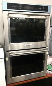 Stainless Kitchenaid Double Stack Electric Convection Oven