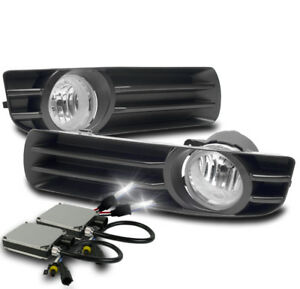 2005 2007 Chrysler 300 Chrome Lower Bumper Driving Fog Lights W 6k Xenon Hid Set