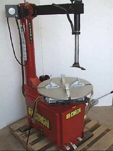 Remanufactured Corghi 9820 ti Tire Changer With Warranty