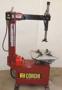 Remanufactured Corghi 9824ti Tire Changer With Warranty