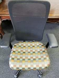 Haworth Multi Color Mesh Back Zody Office Chair Made In Usa
