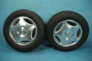 1998 1999 2000 Lexus Ls400 Wheel Tire Michelin Premer A s 225 60 R16 Pair Oem