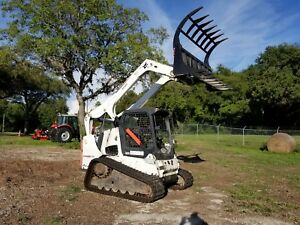 2011 Bobcat T750 Skid Steer Loader On Tracks Joystick Pilot Kubota Diesel