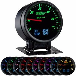 3 In 1 Black Boost W Digital Exhaust Temp And Temperature Gauge Gs 3g 01