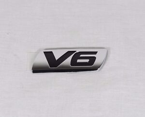 Honda Accord V6 Emblem 95 07 Back New Genuine Oem Chrome Badge Logo Sign Symbol