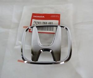 Honda Odyssey Trunk Emblem 05 17 Back Hatch New Oem Chrome H Badge Sign Symbol