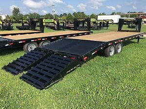 Gooseneck Trailer Brand New 2018 Gator Flatbed Gooseneck Equipment Trailer