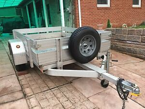 Aluminum Utility Trailer Used 5 X 8 Worthington pick Up Only