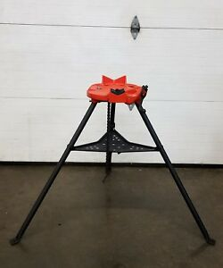 Ridgid 460 Chain Vise Tripod Stand Use W your Pipe Threading Threader 300 700