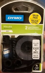 Dymo Labelmanager 160 Label Thermal Printer W 3 Pack Label Cassettes