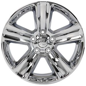 20 20 Inch Dodge Ram 1500 Style Replacement Rims Wheels Chrome New Set Of 4