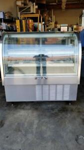 Beverage Air Cdr4 1 Refrigerated Bakery Deli Case Lighted Shelve 48 w 13 4cf