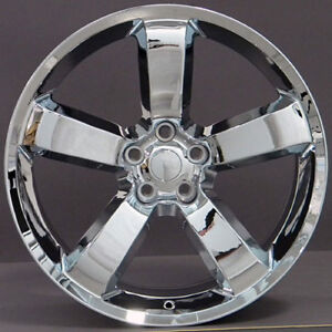 20 Dodge Charger Challenger Style Srt Replacement Rims Wheels T Chrome Set Of 4
