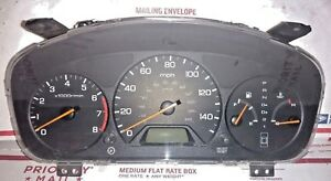 2000 2001 2002 Honda Accord Speedometer Instrument Cluster 78100 s84 a600