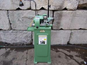 1985 Michael Deckel Feinmechanik So Single Lip Cutter Grinder 120v With Collets
