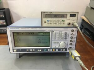 Rohde Schwarz Smiq03b 3 3ghz Vector Signal Generator Fully Loaded Must See