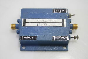 Microwave Rf Low Noise Power Amplifier 10 100mhz 20dbm 38db Gain Sma Tested
