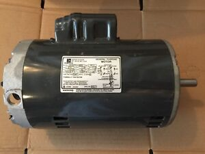 Emerson C63zztcj 4855 3 4hp General Purpose Motor 115 230v 1 ph 1140rpm
