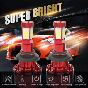1500w 225000lm Car Led Conversion Headlight Kit 9006 Hb4 9012 6000k White Bulbs