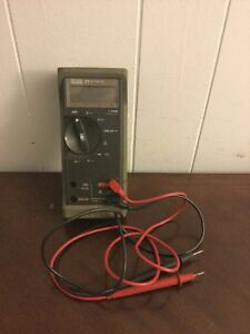 Fluke 77 Multimeter With Leads