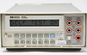 Hp Agilent 3478a Dmm Digital Multimeter Hp ib 5 5 Digit 120v