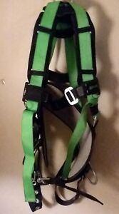 Miller Duraflex Safety Protection Full Body Harness Belt W Stretch Lanyard