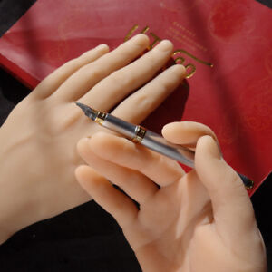 Male Silicone Hand Model Hand Mannequins Display A Pair Finger With Bone A389